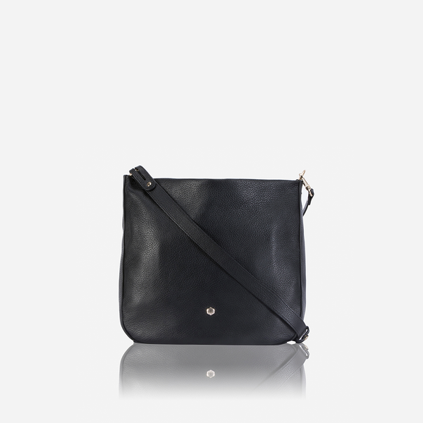 Valentine's Day - Large Crossbody Bag, Black