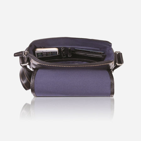 Tablet Crossbody Bag, Black