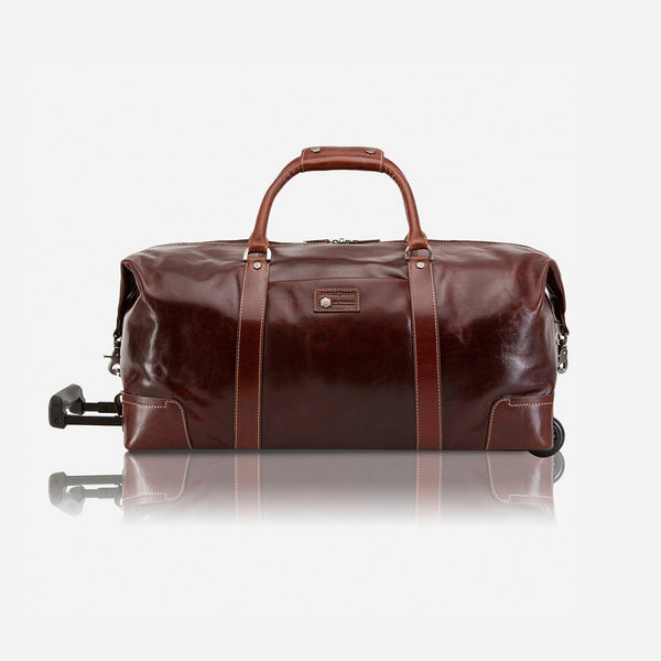 All Men's Bags - Cabin Wheeled Holdall 55cm, Tobacco