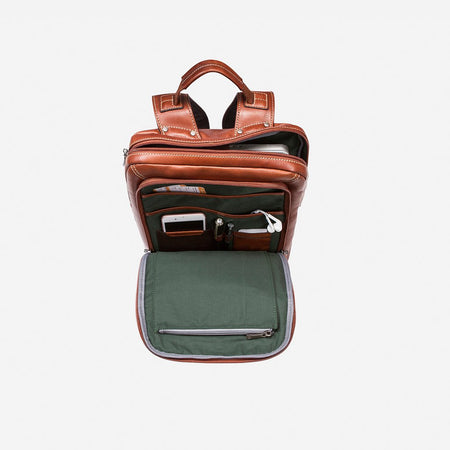 Medium Slim Laptop Backpack, Colt