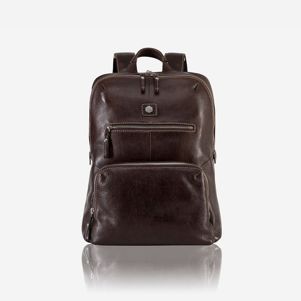 All Men's Bags - Laptop Backpack 40cm, Soft Brown