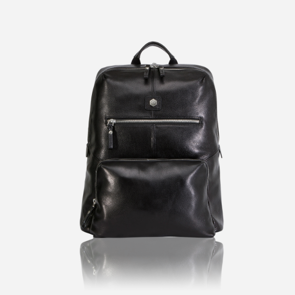All Men's Bags - Laptop Backpack 40cm, Matt Black