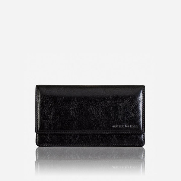 Women's Sale - Large Leather Purse, Black