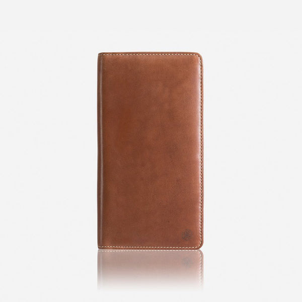 Travel Wallets - Large Zip-Around Travel And Passport Organiser