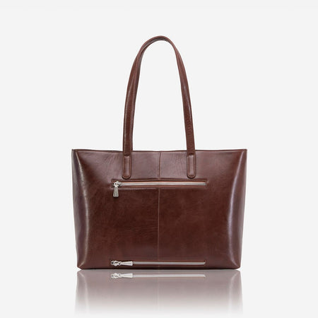 Large Ladies Laptop Shopper, Burgundy