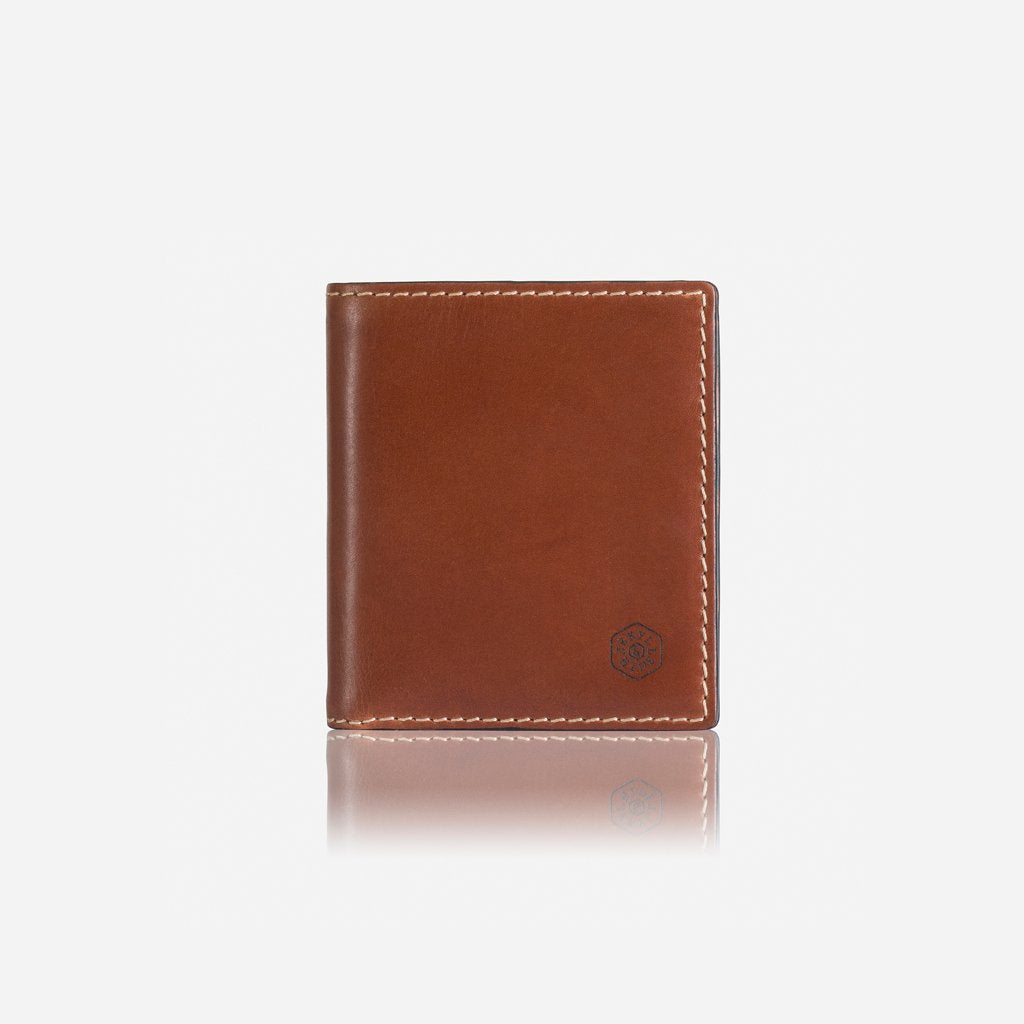Slim Billfold Wallet With Coin, Clay