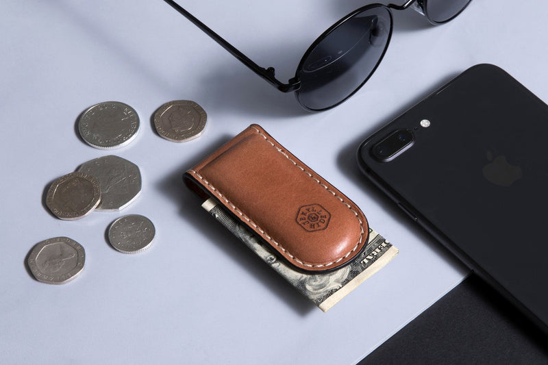 Money Clip, Tan