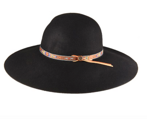 LITTLE HIPPY HAT - Black