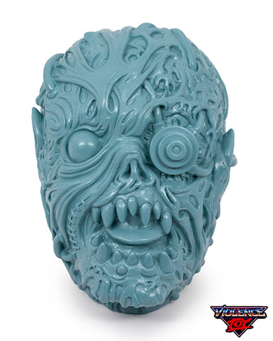 Gorelords Monitorr Head with set of 12 Figures- Bluish Gray