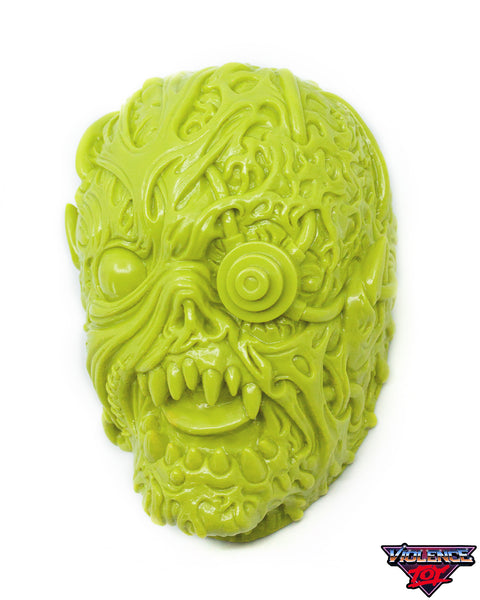 Gorelords Monitorr Head with set of 12 Figures- Light Olive Green