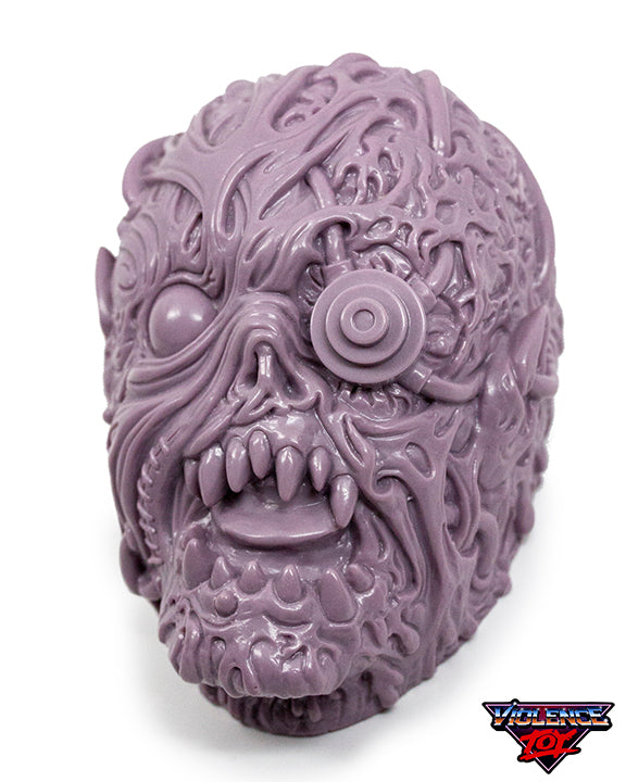 Gorelords Monitorr Head with set of 12 Figures- Pale Purple