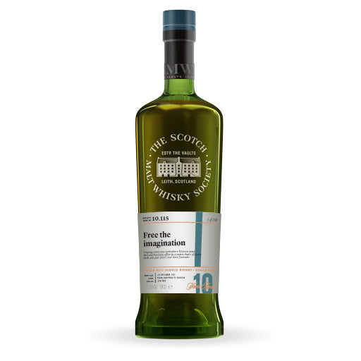 "The Single Cask Whisky Review #78: SMWS 10.115 ""Free The Imagination"""