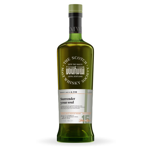"The Single Cask Whisky Review #77: SMWS 4.238 ""Surrender Your Soul"""