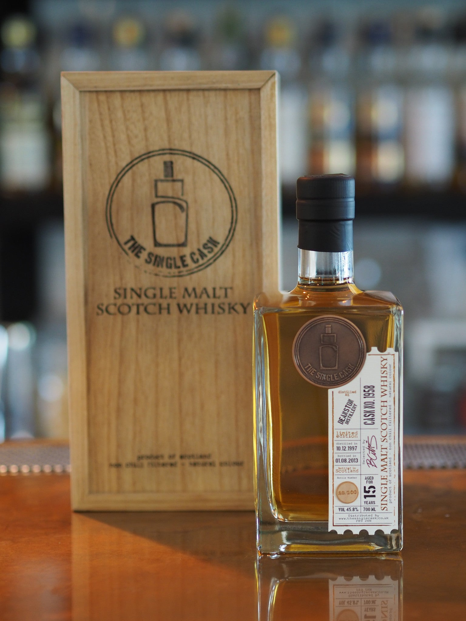 Whisky Review No.16 - The Single Cask Whisky Bar Singapore