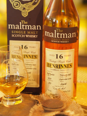 The Single Cask Whisky Review #49: Benrinnes 1997 16 Years Old