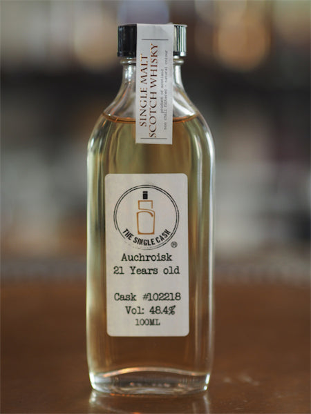 The Single Cask 21YO Auchroisk 1991 -100ml