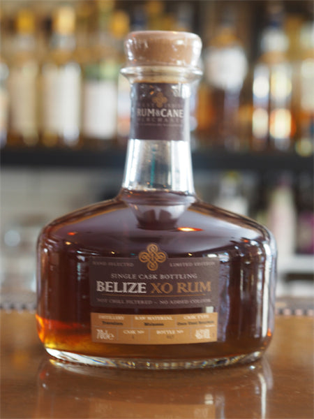 Single Cask Belize XO Rum - The Single Cask