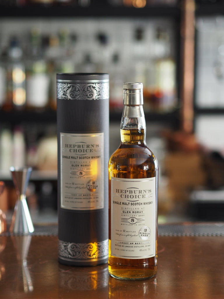 8YO Glen Moray Herpburn Choice 2007 - The Single Cask