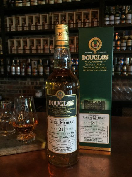 21YO Glen Moray-Douglas 1991 - The Single Cask