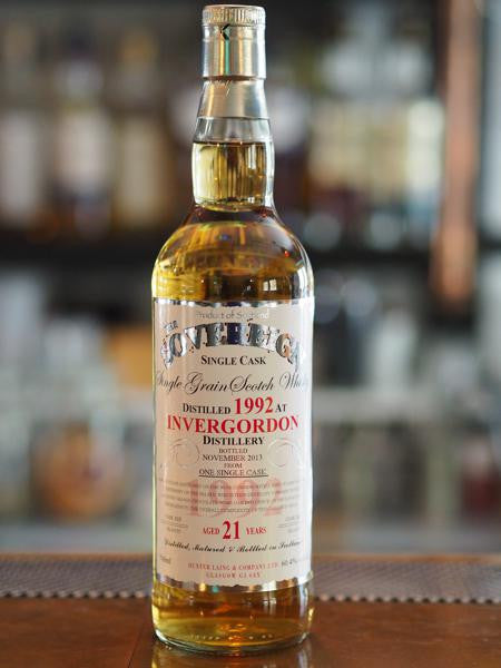 21YO Invergordon Grain 1992 - The Single Cask