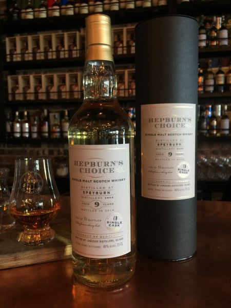 9YO Speyburn-Herpburn Choice 2004 - The Single Cask