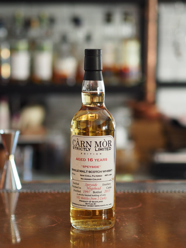 16YO Speyside Carn Mor 1997 - The Single Cask