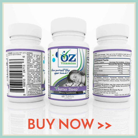 Buy Now Exclusively Oz Vitamins Online Better Sleep Herbal Supplement