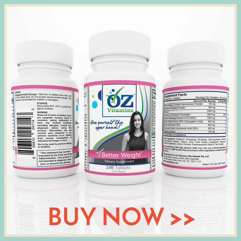 Buy Now Exclusively Oz Vitamins Online Better Weight Herbal Supplement