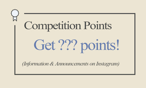 Competition Points - Get ??? points! - Information and announcements on Instagram