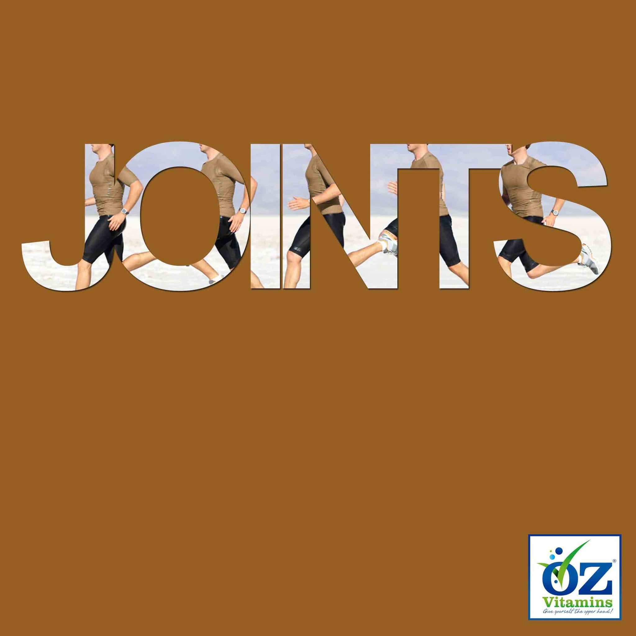Oz Vitamins Better Joints is a unique vitamin dietary supplement designed to support healthy joints, enabling mobility and functionality in a healthy, active lifestyle. It is available exclusively online and packs a whopping Boswellia Serrata (65% Boswellic acid) 1000mg, Chondroitin 1200mg, Collagen Type 2 2000mg, Curcuma Longa (95% Curcuminoids) 1500mg, Glucosamine 1500mg, Hyaluronic acid 200mg and MSM 1000mg into a total daily dose in a convenient one month supply.