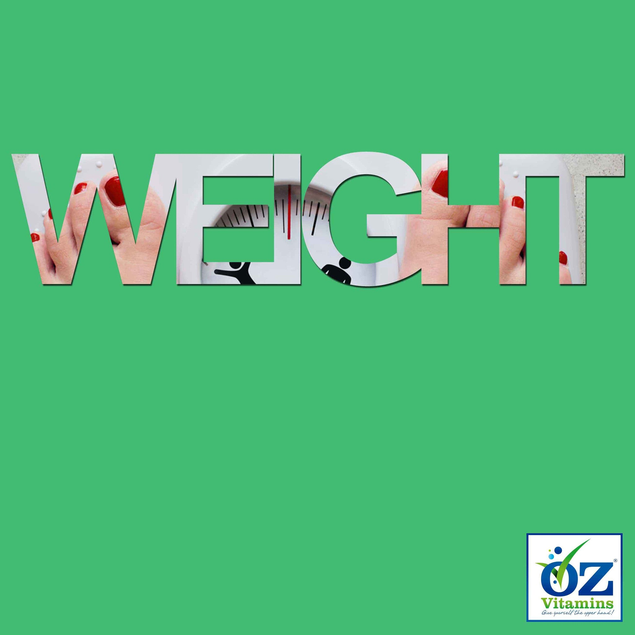 Oz Vitamins Better Weight is a unique vitamin dietary supplement designed to support your healthy weight goals. Available exclusively online, it packs a whopping combination of African Mango (Irvingia gabonensis) 300mg, Caralluma Fimbriata 1000mg, Chitosan 4000mg, Chromium 500mcg, Garcinia Cambogia (60% HCA) 3000mg, Green Coffee (50% Chlorogenic acid) 1200mg, Green Tea (50% Polyphenol) 800mg, Gymnema Sylvestre (50% Gymnemic acid) 800mg and Raspberry Ketone 200mg into a total daily dose in a convenient one m