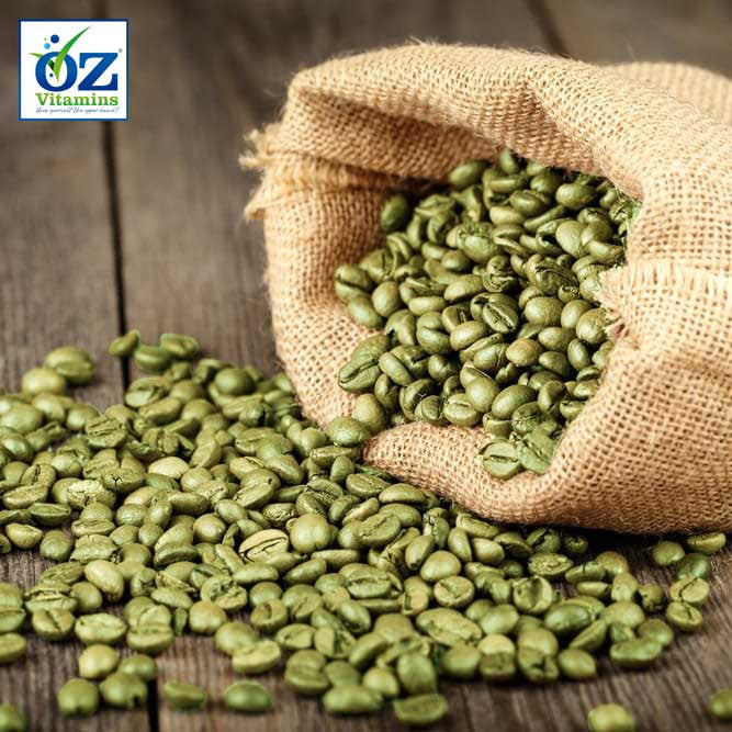 Green coffee beans are unroasted to prevent the heat killing most of the active ingredient, chlorogenic acid. Animal studies have shown that chlorogenic acid can reduce fat absorbed from the diet and fat stored in the liver, as well as improve the functioning of adiponectin which helps regulate glucose levels as well as fatty acid breakdown.
