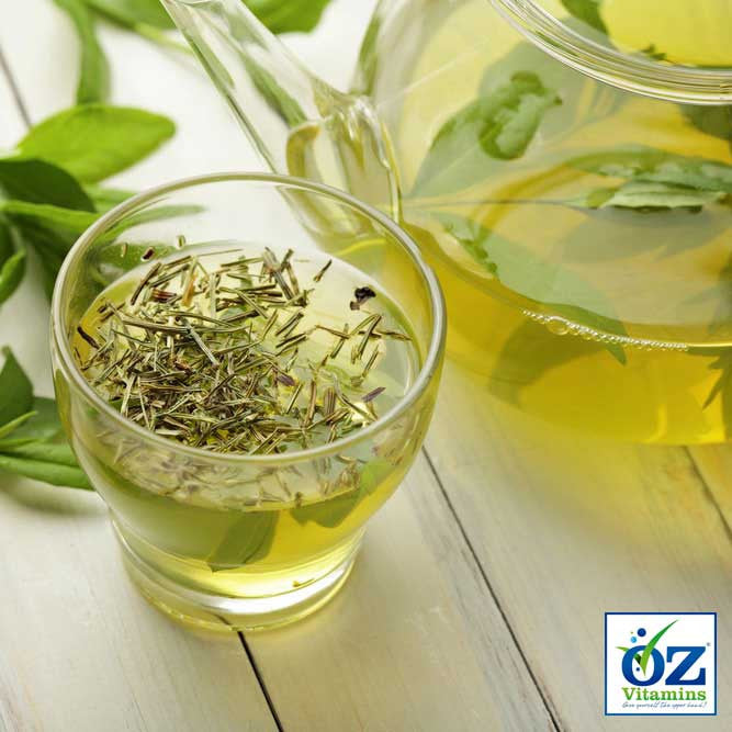 Green tea is widely acclaimed for its health benefits. It contains ECGC which helps promote fat loss by increasing the rate at which the body burns fat, appearing to speed up thermogenesis where calories are used to generate heat. It also helps prevent the breakdown of norepinephrine, which plays an important role in weight management by signaling to the brain that you're full. ECGC helps keep norepinephrine from degrading too quickly, which means you'll feel fuller longer.