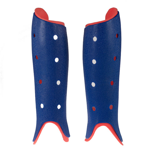 BYTE CLUB SHINGUARDS NAVY/RED