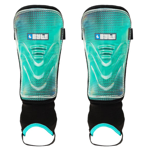 BYTE MX JUNIOR SHINGUARDS TEAL