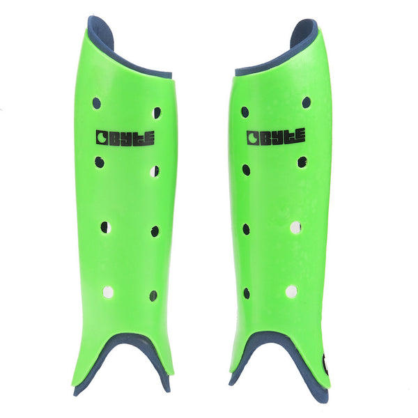 BYTE CLUB SHINGUARDS GREEN NAVY