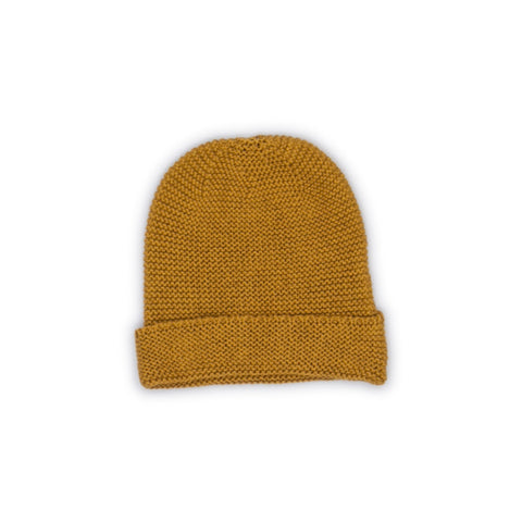 Gold Knit Beany - WIIKWAM