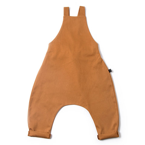 Dungarees overalls, camel - WIIKWAM