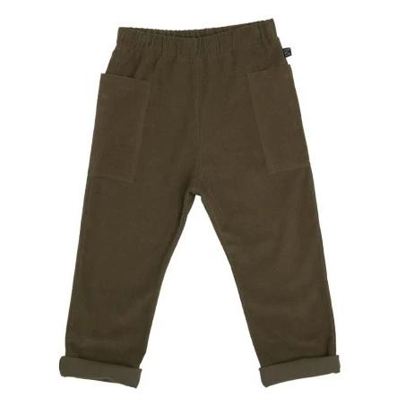 Olive Side Pocket Pants - WIIKWAM