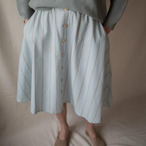 Wave Button Skirt, voksen - WIIKWAM
