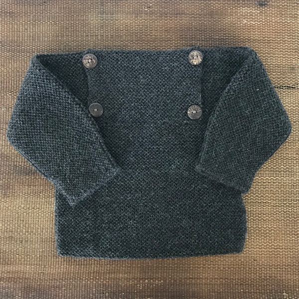 Sweater, RICO, dark grey - WIIKWAM