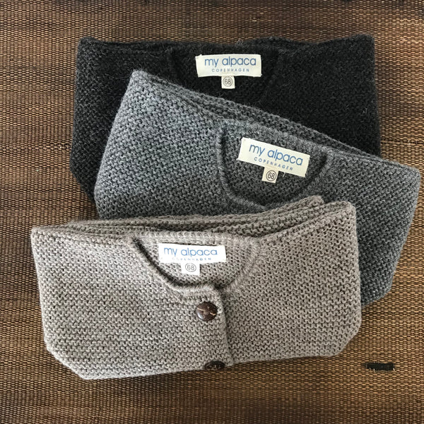 Cardigan, RICO, dark grey - WIIKWAM