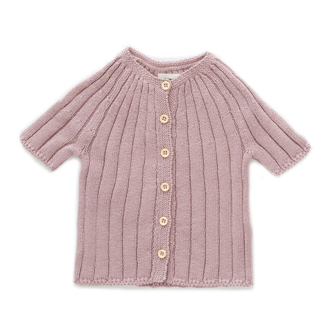 Everyday Cardigan Mauve - WIIKWAM
