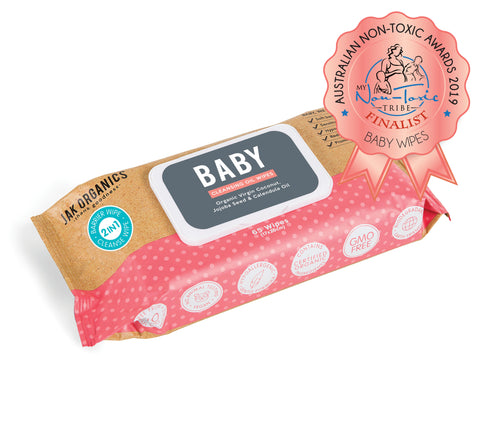 BABY Wipes - Coconut, Jojoba & Calendula Oil