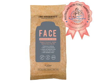 JAK Pack - FACE Wipes + SCRUB + SOOTHE Pot