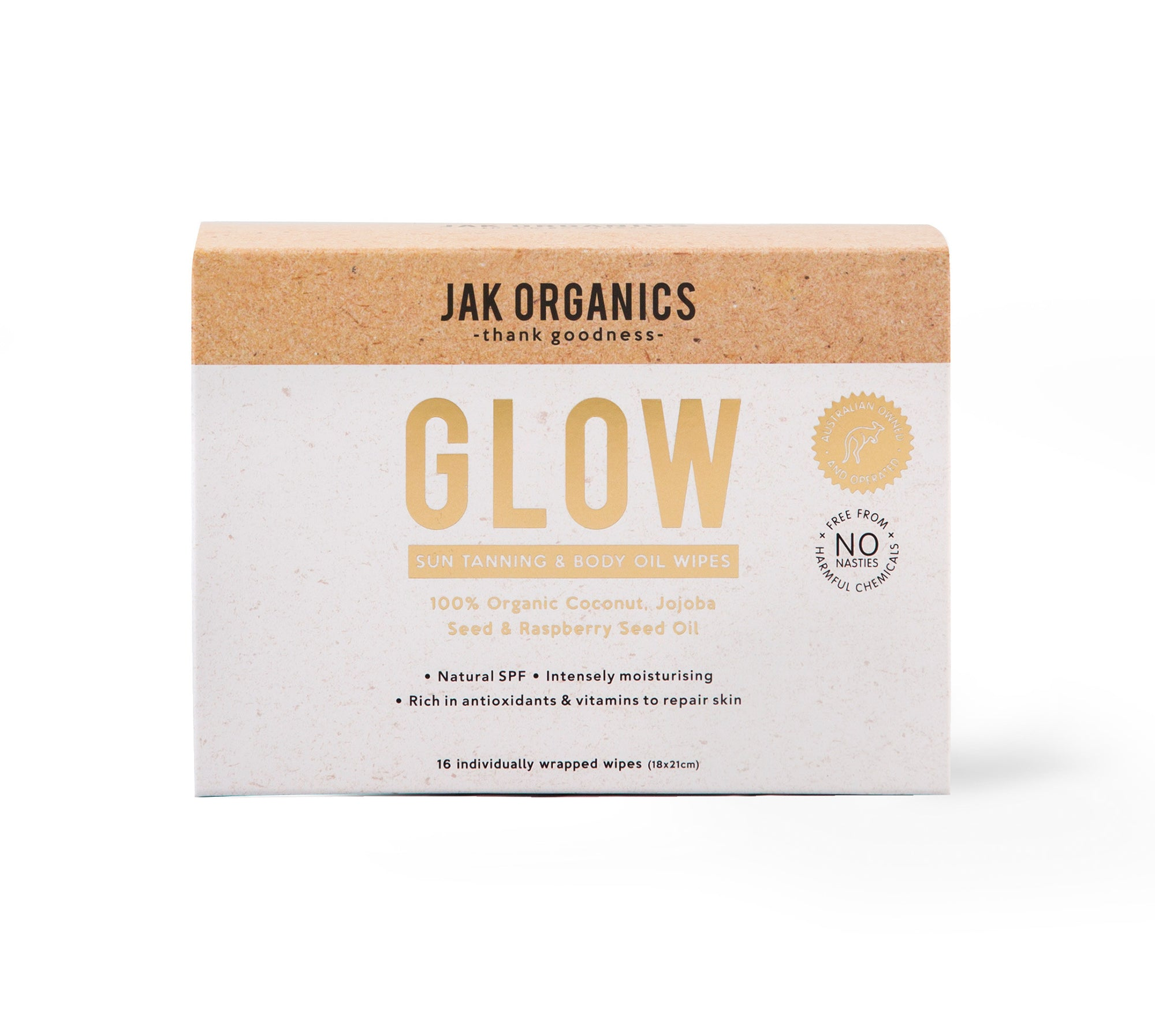 GLOW - Body Illuminating and Tan Enhancing Wipes
