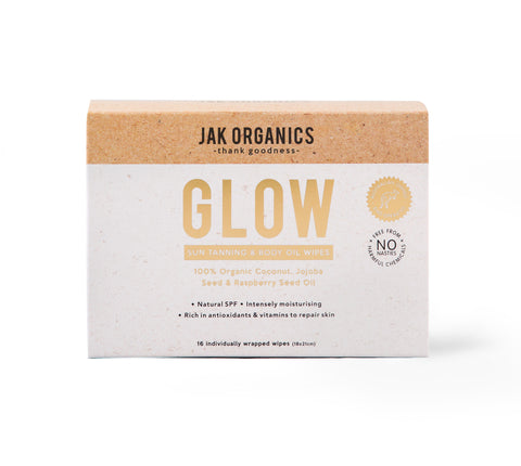 GLOW - Body Illuminating + Tan Enhancing Wipes