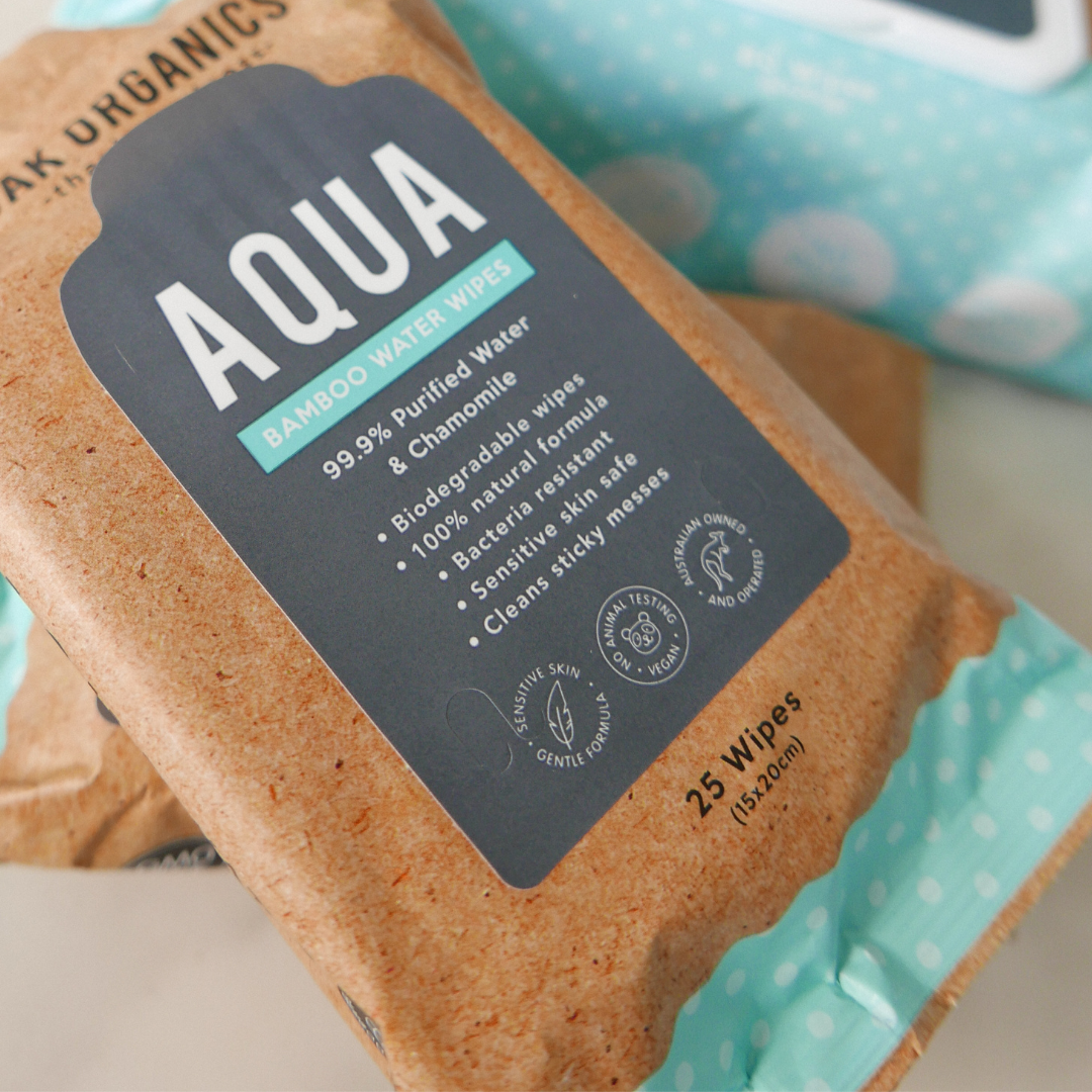 AQUA Mini - Bamboo Water Wipes