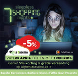 7 Sleepless Shopping Nights 2016 | Wijnen La Cascina