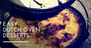10 Easy Dutch Oven Desserts For Camping